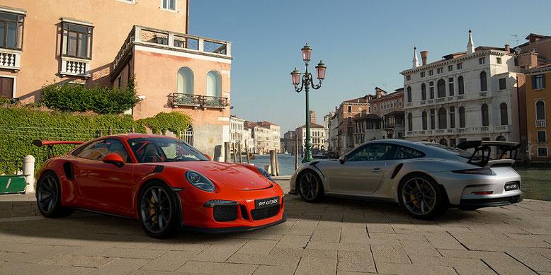 Gran Turismo Sport für PlayStation 4 wartet mit vielen Edelmarken der Autoindustrie auf. Auch mit Porsche. Bild: Sony