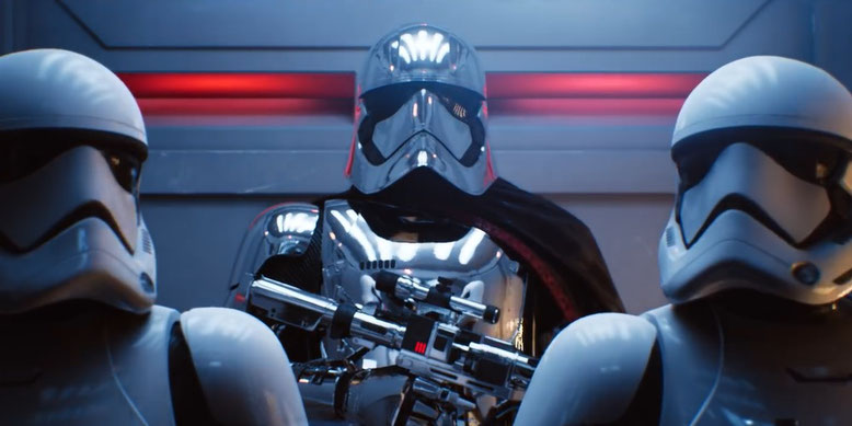 Raytracing in Star Wars dank Unreal Engine 4 in Echtzeit.