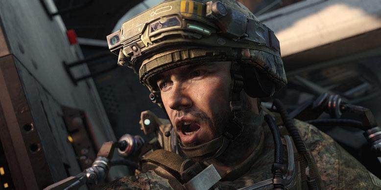 Der Zweite Weltkrieg hält Einzug im Multiplayer von Call of Duty: Advanced Warfare. Bilderquelle: Activision