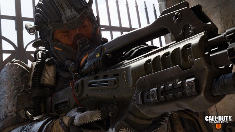 Die ersten offiziellen Screenshots zu dem Actionspiel Call of Duty Black Ops 4 wurden veröffentlicht. Bilderquelle: Activision