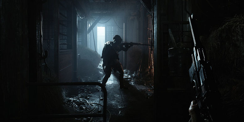Das erste Entwicklervideo samt neuen Gameplayszenen zu dem Shooter Hunt: Showdown wurde veröffentlicht. Bild: Crytek