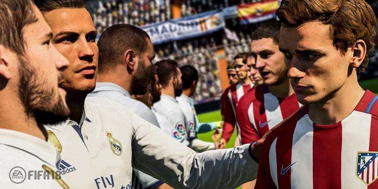 FIFA 18 bietet erstmals in der Geschichte der Fußballsimulation den DFB-Pokal und die dritte Liga. Bilderquelle: EA Sports