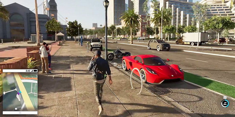 20 Minuten Open World Gameplay aus Watch Dogs 2. Bilderquelle: Ubisoft
