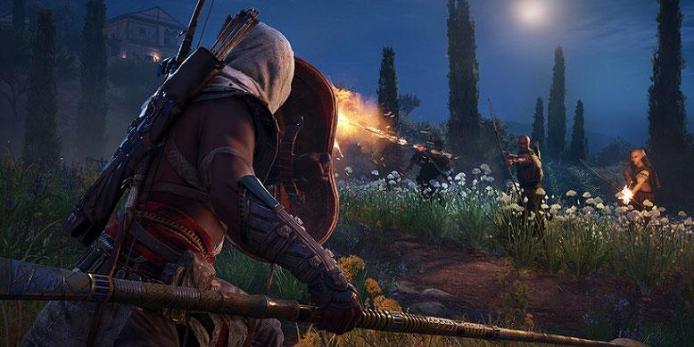 Der große Patch mit HDR-Support für Assassin's Creed Origins auf PS4 Pro und Xbox One X ist im Anmarsch: Bild: Ubisoft