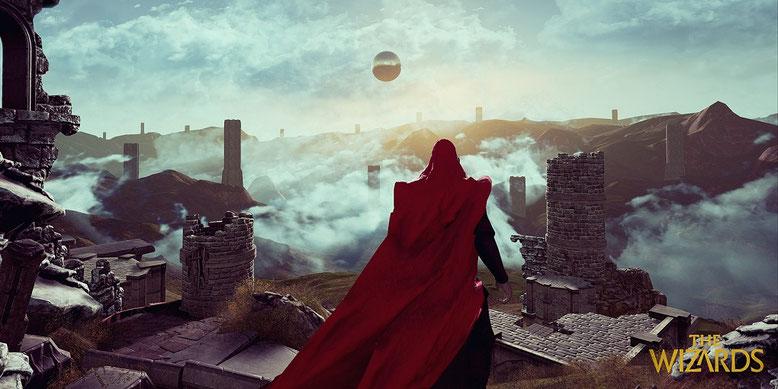 The Wizards für HTC Vive und Oculus Rift angekündigt. Bilderquelle: Carbon Studio