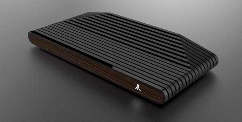 Die Ataribox bietet neue Games und Retro-Spiele im Gewand des klassischen Konsolen-Designs. Bild: Atari Interactive