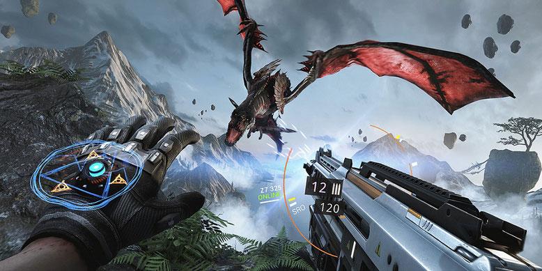 Das Actionspiel Bright Memory basiert auf der Unreal Engine 4 aus dem Hause Epic Games. Bilderquelle: FYQD Studio