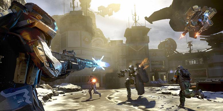 Vorschau-Video zum Multiplayer von Call of Duty: Infinite Warfare. Bilderquelle: Activision