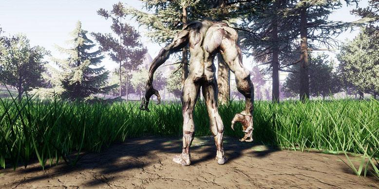 So sehen die Mutationen in dem Open-World-Survival-Shooter The Day After aus. Bilderquelle: Coconut Games