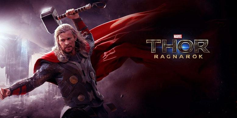 Chris Hemsworth spielt in Thor 3: Ragnarok wieder den hammerschwingenden Superhelden. Bilderquelle: Marvel Studios