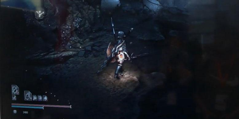 Das chinesische PlayStation 4 Action-Adventure Sinner sieht sehr stark nach Dark Souls aus. Bilderquelle: Darkstar Games