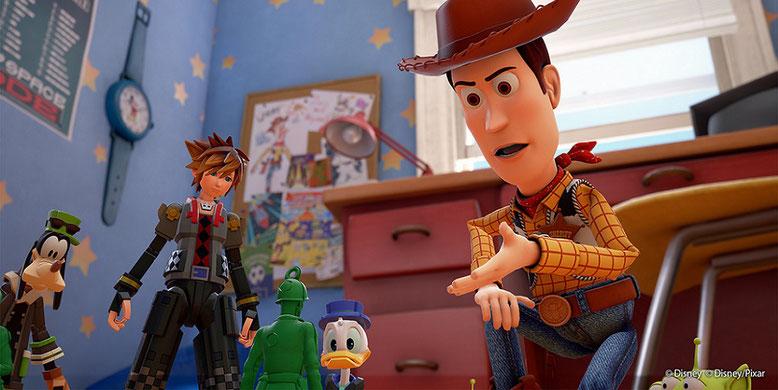 Auf der D23 Expo haben Disney, Pixar und Square Enix einen neuen Trailer zu Kingdom Hearts 3 enthüllt. Bilderquelle: Disney
