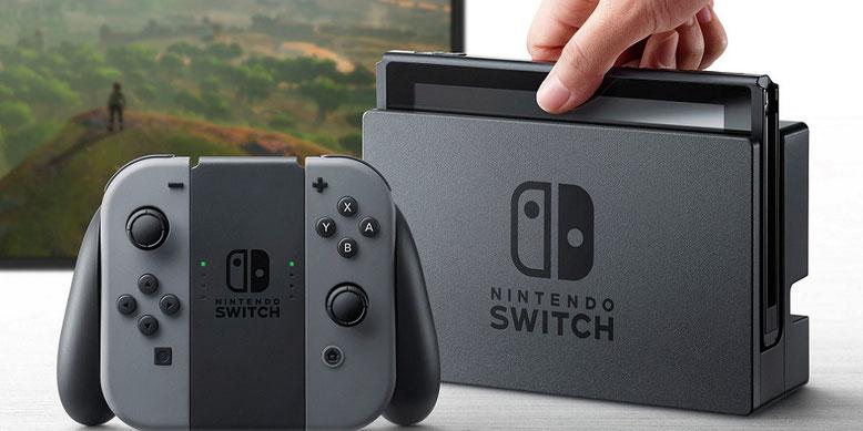 Nintendo Switch: Die ersten Spielekonsolen sind auf illegale Weise in Umlauf gelangt. Bilderquelle: Nintendo