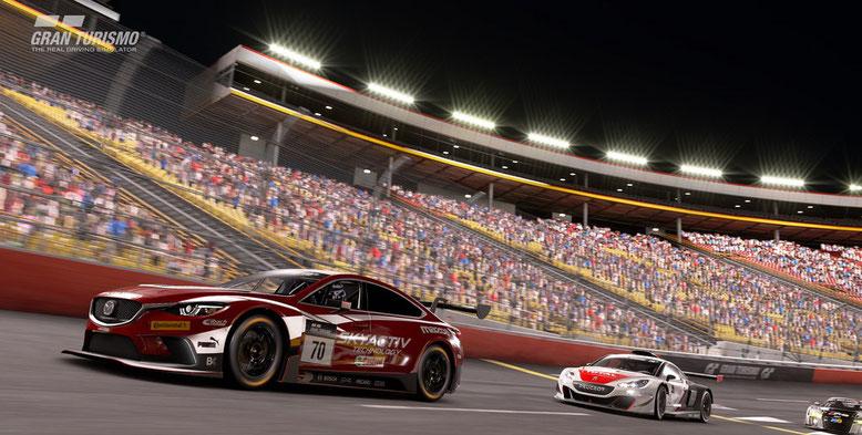 Zu der Rennsimulation Gran Turismo Sport für PlayStation 4 wird eine spielbare Demofassung veröffentlicht. Bild: Sony