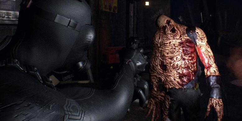 Das Resident Evil 2-Remake heißt jetzt Daymare 1998. Bilderquelle: Invader Studios