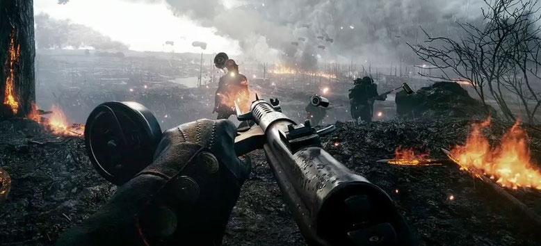 Battlefield 1 Gameplay Video zu den Waffen