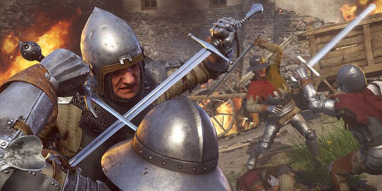 Kingdom Come Deliverance im Gameplay-Video der PS4-Version des Rollenspiels der E3 2017. Bilderquelle: Warhorse Studios