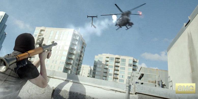 Rockstar Games und AMC zeigen den ersten Trailer zur TV-Serie von Grand Theft Auto. Bilderquelle. AMC