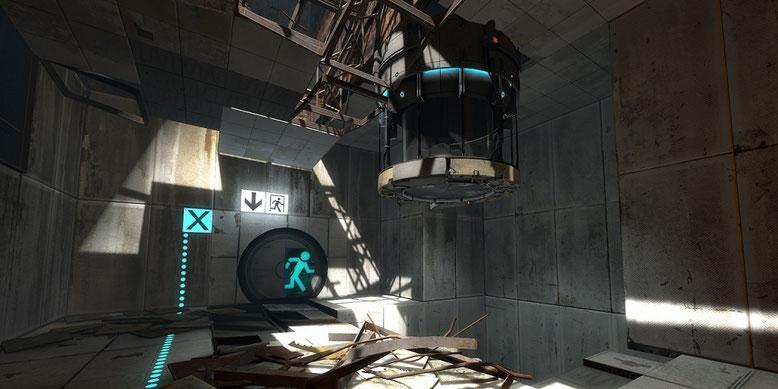 Die offizielle Ankündigung zu Portal 3 von Valve lässt noch auf sich warten. Bilderquelle: Unreal Engine Forums