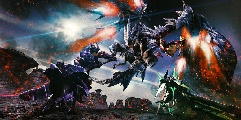 Monster Hunter XX für Nintendo Switch im Trailer samt Release-Termin angekündigt. Bilderquelle. Capcom