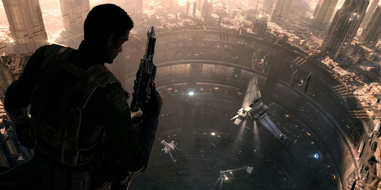 Der Release des Star-Wars-Action-Adventures von Visceral Games rückt in weite Ferne. Das Studio musste schließen. Bild: EA