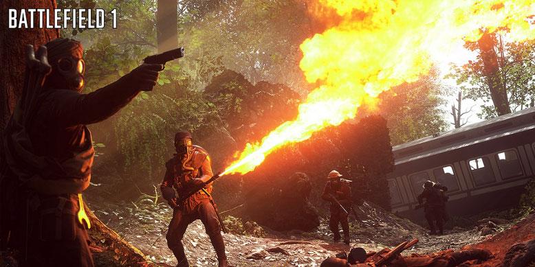 Die ersten 12 Minuten aus der Kampagne von Battlefield 1 im Video gezeigt. Bilderquelle: EA