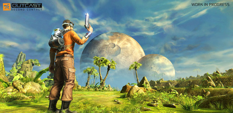 Gamescom 2016-Screenshots zu Outcast: Second Contact