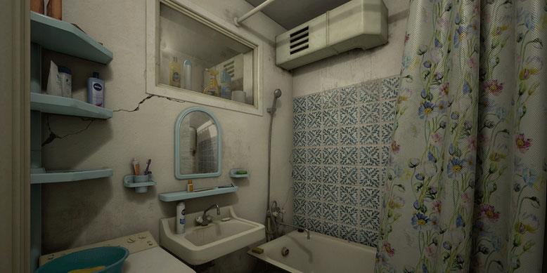 Das Horror-Game Twin Soul glänzt mit einer optisch beeindruckenden Umgebung. Bilderquelle: White Noise Team