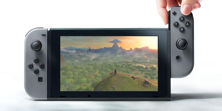 Die Absätze der Switch-Konsole lässt die Kassen für Nintendo klingeln. Bilderquelle: Nintendo