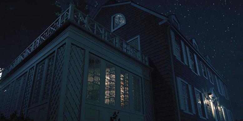 Das Spukhaus von Amityville auf Basis der Unreal Engine 4. Bilderquelle: Facebook AmityvilleGame