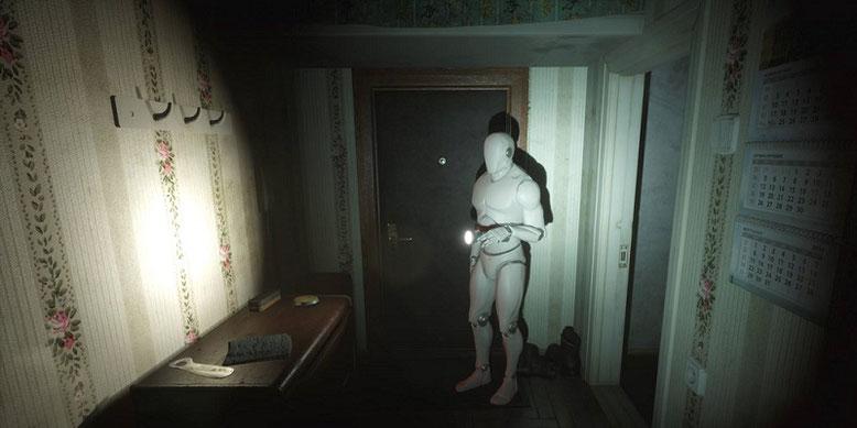 Prototyp-Gameplay zu dem kommenden Koop-Horror Twin Soul im Video präsentiert. Bilderquelle: White Noise Team