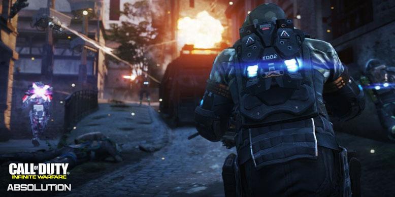 Der offizielle Launch-Trailer zum dritten DLC-Pack Absolution für Call of Duty Infinite Warfare ist da. Bilderquelle: Activision
