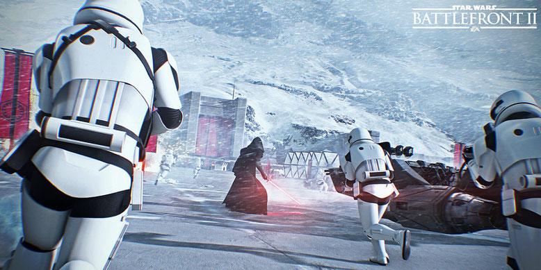Star Wars Battlefront Gameplay Leak zeigt angeblich die ersten Spielszenen aus dem Shooter. Bilderquelle: Electronic Arts