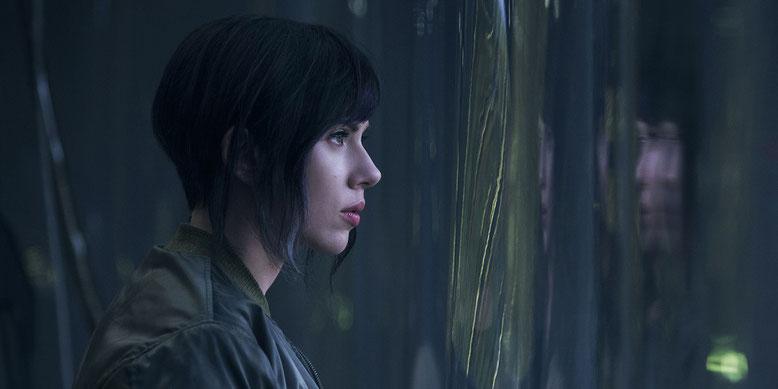 Scarlett Johannson im Kinofilm Ghost in the Shell. Bilderquelle: Paramount Pictures