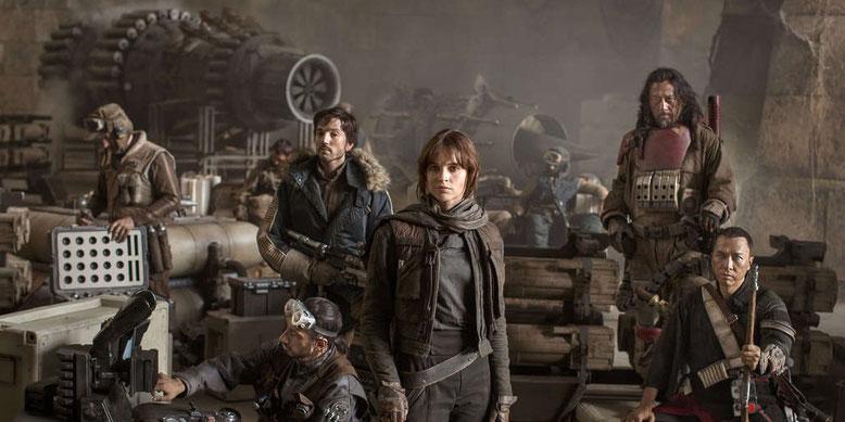 Erfolgreicher Kinostart für Rogue One: A Star Wars Story. Bilderquelle: Disney/Lucasfilm