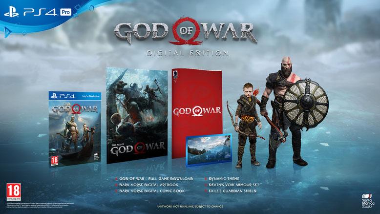 God of War PS4 Digital Edition