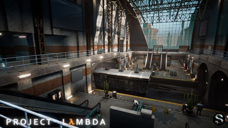 In dem Fan-Projekt Lambda treffen Half-Life und Black Mesa auf die Unreal Engine 4. Bilderquelle: SilverTM