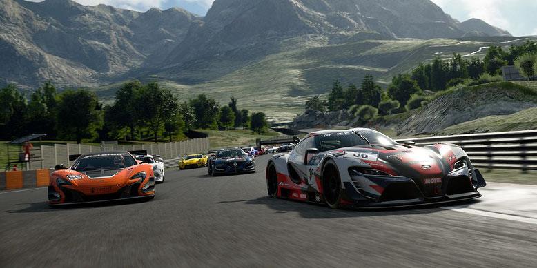 Die EU-Beta zu Gran Turismo Sport ist mittlerweile auch gestartet. Bilderquelle: Sony Interactive Entertainment