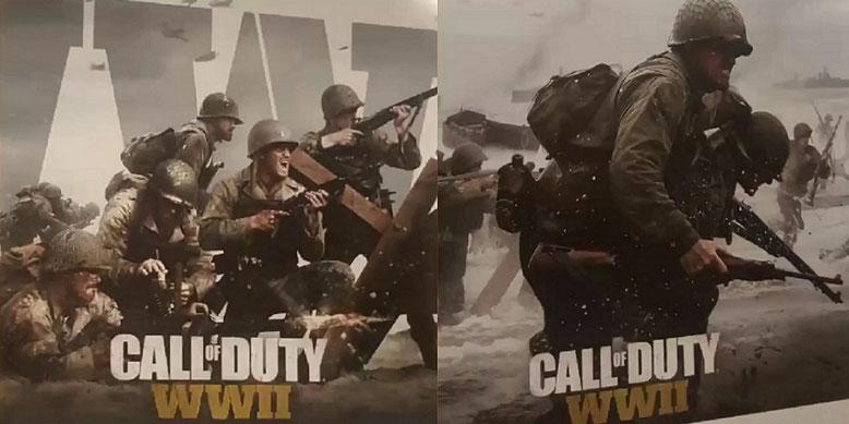 Das neue Call of Duty 2017 von Sledgehammer Games scheint laut Artwork-Leak im Zweiten Weltkrieg zu spielen. Bilderquelle: TheFamilyVideoGamers/YouTube