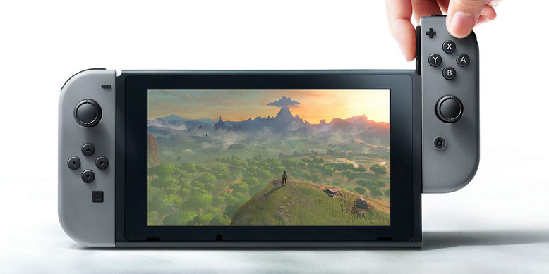 Neue Spielekonsole Nintendo Switch im Vorschau-Video enthüllt. Bilderquelle: Nintendo