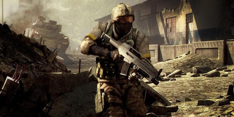 Die offizielle Enthüllung von Battlefield Bad Company 3 soll auf der E3 2018 in Los Angeles erfolgen. Bilderquelle: EA