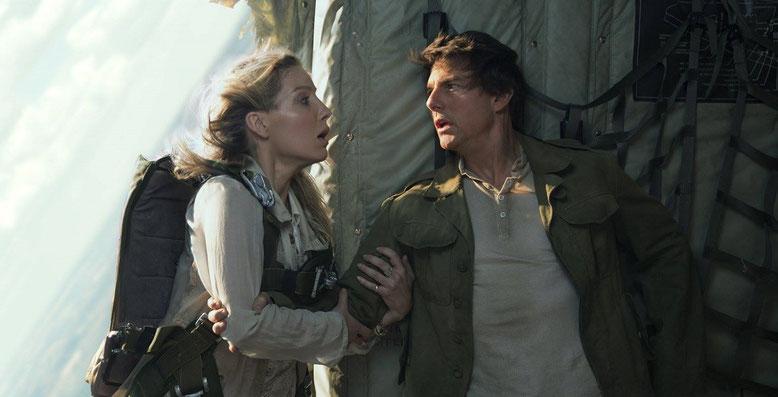 Der finale Trailer zu Die Mumie mit Tom Cruise zeigt packende Ausschnitte. Bilderquelle: Paramount Pictures