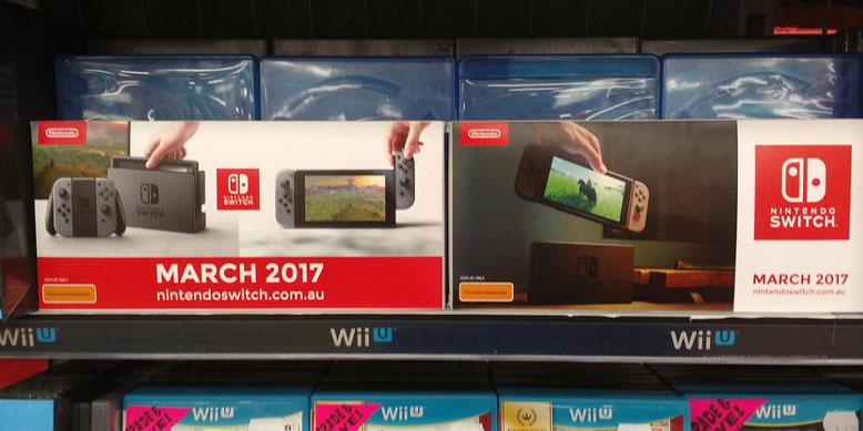 Die Werbeoffensive zur Nintendo Switch läuft in Australien bereits an. Bilderquelle: reddit.com
