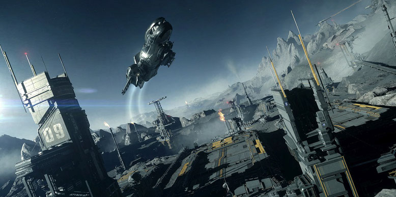 Star Citizen 3.0 auf der Gamescom 2016 präsentiert. Bilderquelle: Cloud Imperium Games