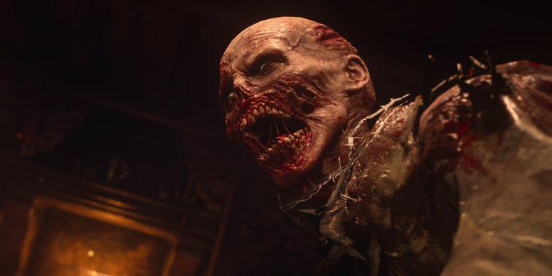Call of Duty WW2 zeigt sich auf neuen Screenshots aus dem Zombie-Modus des Actionspiels. Bilderquelle: Activision