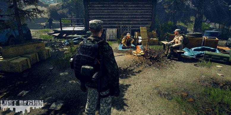 Infos und neue Bilder zu Lost Region auf Basis der Unreal Engine 4 erschienen. Bilderquelle: Farom Studio