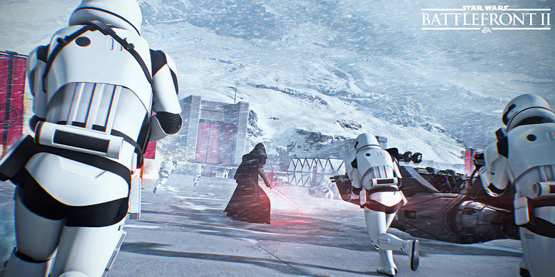 Star Wars Battlefront 2 zeigt sich im neuen Motion-Capture-Video. Bilderquelle: Electronic Arts