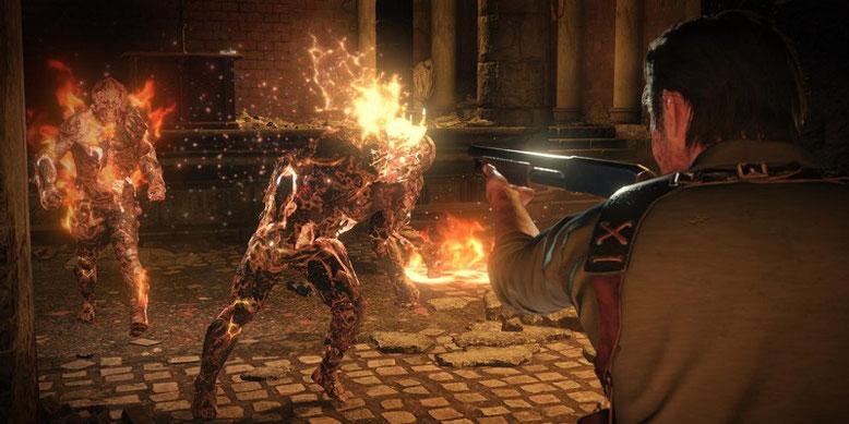 Spieler haben in der PC-Version von The Evil Within 2 einen First-Person-Mode freigeschaltet. Bilderquelle: Bethesda