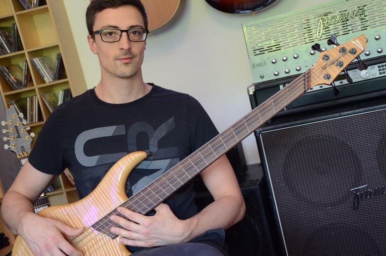 Eric Mozer, Kephalo, Bassist, Instrumentalmusik