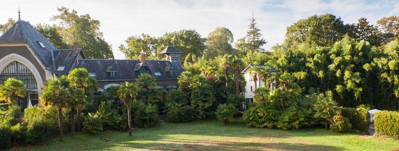 Gîtes du Domaine Belle Epoque dans le parc du Château à Linxe 40